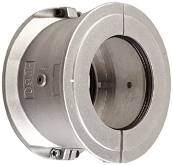 Lovejoy Grid Coupling, 2-Piece Cover Set, Horizontal Style, Aluminum