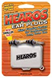 Hearos High Fidelity Series Ear Plugs for Comfortable Long Term Use with Free Case, 1-Pair