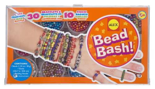 ALEX Toys Do-it-Yourself Wear Bead Bash Deep Jewelry Kit - 1