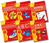 Harper Collins Collins Easy Learning Preschool Age 3-5 English Collection - 6 Books RRP £17.94 (ABC Age 3-5; More ABC Age 3-5; First Phonics Age 3-5; Reading and Rhyme Age 3-5; Writing Age 3-5; More Writing Age 3-5)