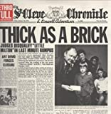 Thick As A Brick LP (Vinyl Album) UK Chrysalis 1972