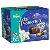 Pampers Extra Protection Diapers Size 6 Super Pack 54 Count