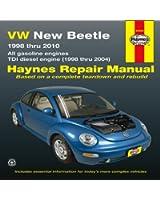 VW New Beetle Automotive Repair Manual: 1998-10 (Haynes Automotive Repair Manuals)
