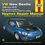img - for VW New Beetle 1998 thru 2010: All gasoline engines - TDI diesel engine (1998 thru 2004) (Haynes Repair Manual) book / textbook / text book