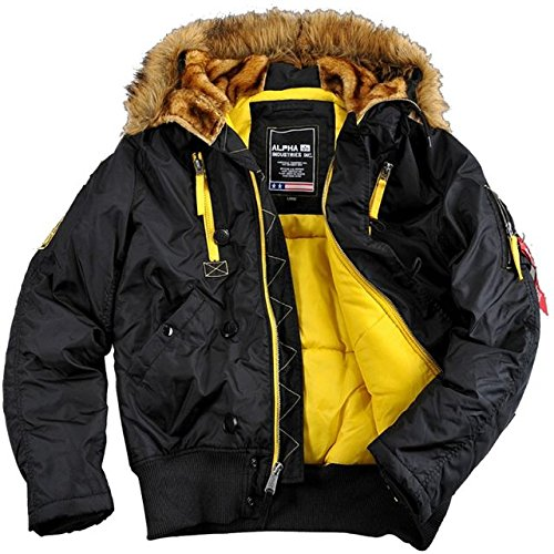 Alpha Industries PPS N2B giacca da uomo giacca invernale parka 30087 Black XL