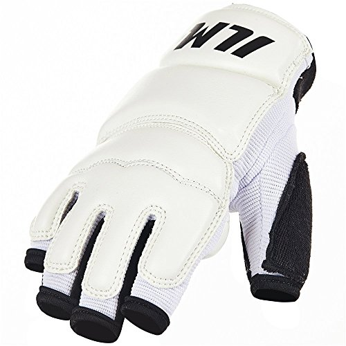 ILM Pro Boxing Bag Training Kickboxing Sparring MMA Leather Gloves for Women Men Kids
