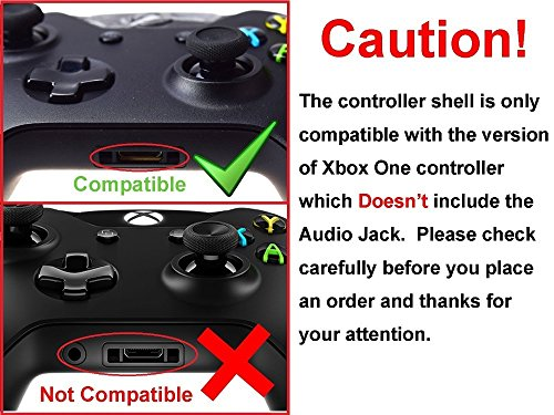 GameXcel ® Custom Pink Chorme Finished Replacement Xbox One Controller  Shell Cover Kit + Buttons with T8H Screwdriver