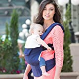 lillebaby Complete Embossed 6-in-1 Baby Carrier, Blue