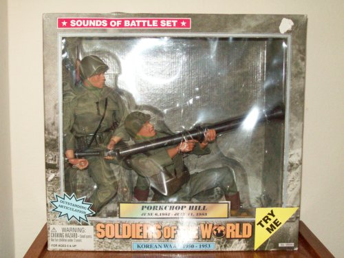 Buy Low Price Formative International Soldiers of the World: Korean War – Porkchop Hill Figure (B001AVA3SC)