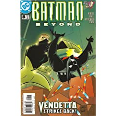 Batman Beyond #8 by Hilary J. Bader,&#32;Rich Fogel,&#32;Craig Rousseau and Rob Leigh