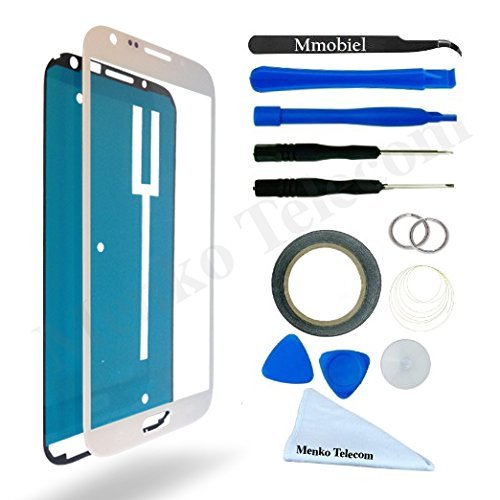 SAMSUNG GALAXY NOTE 2 N7100 N7105 i605 T889 i317 WHITE Display Touchscreen Replacement Kit 14 Pieces Including 1 Replacement Front Glass For SAMSUNG GALAXY NOTE 2 N7100 N7105 i605 T889 i317 / 1 Pair Of Tweezers / Pre Cut Sticker / 1 Roll Of 2MM Adhesive Tape / 1 Tool Kit / 1 Microfiber Cleaning Cloth / Suction Cup / Wire (Kit Repair Samsung Note 2 compare prices)
