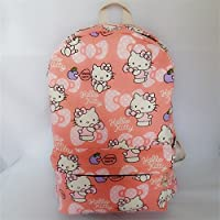Cjb Lovely Sanrio Hello Kitty Backpack Bag Pink Pattern (Us Seller)
