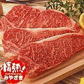 宮崎牛(牛肉/和牛)サーロインステーキ用/180g×3