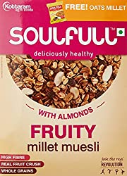 Soulfull Muesli Fruity, 450g