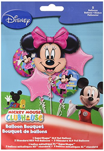 Anagram International Minnie Mouse Bouquet, Multicolor - 1