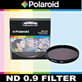 Polaroid Optics ND 0.9 Neutral Density Filter For The Sony Alpha DSLR SLT-A33, A35, A37, A55, A57, A58, A65, A77, A99, A100, A200, A230, A290, A300, A330, A350, A380, A390, A450, A500, A560, A550, A700, A850, A900 & Minolta Maxxum Digital SLR Cameras Whi