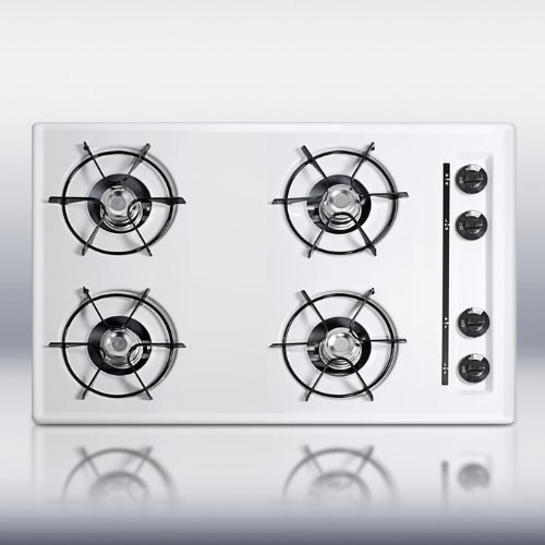 30-Gas-Cooktop-with-Cordless-Ignition-in-White