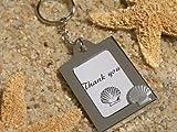Memorable Moments Seashell Keychain Photo Frames