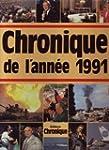 Chronique de l'ann�e 1991