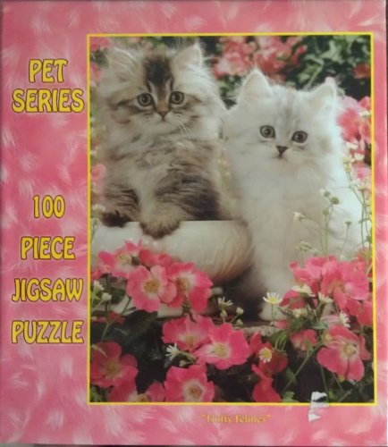 Kitties 100 Piece Puzzle Cuddlies Series by E&L Corporation