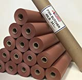 "Pink/Peach Butcher Paper Roll 24"" X 150' in Durable Carry Tube, FDA Approved, MADE 100% in the USA, The ORIGINAL meat smoking paper for Texas style BBQ"