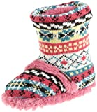 Muk Luks Girls 2-6X Flirty Fairisle Scrunch Boot, Sweetie Pink, 9/10 | Review &#038; Best Price