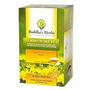 Buddha's Herbs Pure St John Wort's Tea, 22-Count Tea Bags