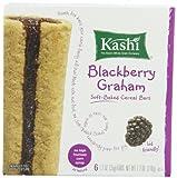 Kashi Cereal Bar, Blackberry Graham, 7.2 Ounce,(Pack of 6)