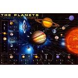 1art1 36802 Poster Système Solaire Les Planètes 91 X 61 cm