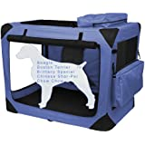 Pet Gear Generation II Deluxe Portable Soft Crate for Cats and Dogs up to 50-Pounds, Lavender