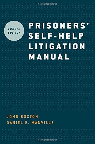 Prisoners' Self-Help Litigation Manual (Commercial Litigation compare prices)