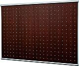 ベルク 【壁付けできる便利なマグネットボード】 ウッディボード 90×62.9cm セピア MR4035