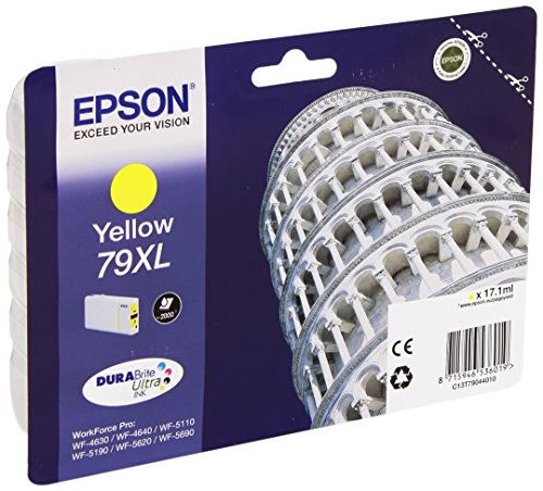 Epson T7904 Tintenpatrone Pisa XL, Singlepack gelb