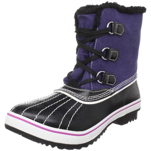 Skechers Women's Highlanders Ankle Boot,Black/Navy,5.5 M US