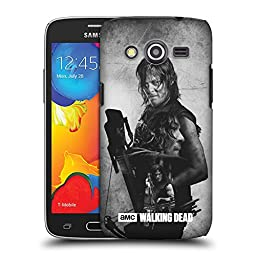 Official AMC The Walking Dead Daryl Double Exposure Hard Back Case for Samsung Galaxy Avant