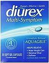 Diurex Multi-Symptom AquaGels 20 Count