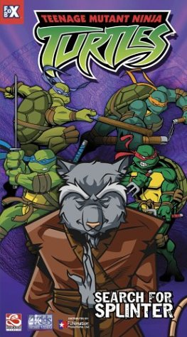 Teenage Mutant Ninja Turtles -  Search for Splinter (Vol. 8) [VHS]