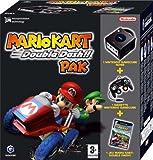 echange, troc Pack Console Gamecube noir + Mario Kart Double Dash