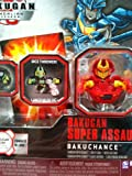 Bakugan Gundalian Invaders Super Assault Red Pyrus Mystic Chancer Dice Thrower [New, in Package]