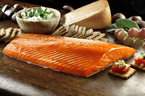 Copper River Wild Alaskan Smoked Sockeye Salmon Fillets - 24 Oz (1.5 lbs)