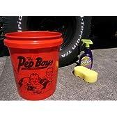 アメリカの大手カー用品店『PEP BOYS』のガレージバケツ!【ペップボーイズバケツ】