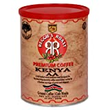 Reggie's Roast Kenya AA Ground Coffee, 12-Ounce Cans (Pack of 3)