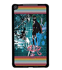 PrintDhaba Fantasy Girl D-5659 Back Case Cover for ASUS GOOGLE NEXUS 7 2013 (Multi-Coloured)