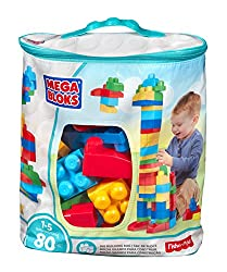 Fisher Price First Builders Big Building Bag, Blue