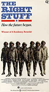 The Right Stuff [VHS]