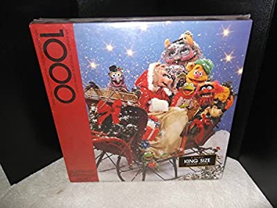 1000 Piece Springbok Jigsaw Puzzle A Muppet Christmas Party 1980
