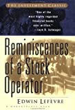 Reminiscences of a Stock Operator (First Edition)