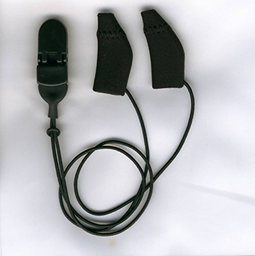 Ear Gear- Mini Corded Black, Set of 2 Covers Fits 1-1.25