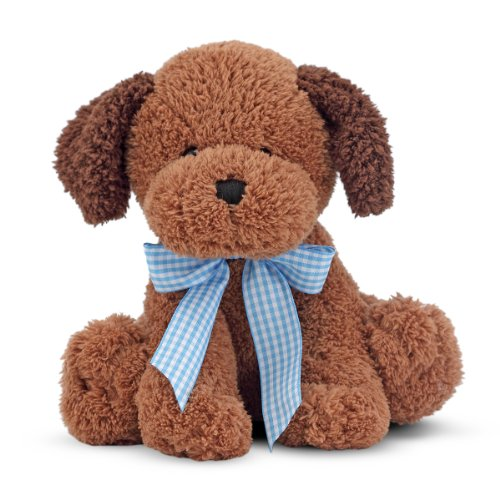 Melissa & Doug Princess Soft Toys Meadow Medley Chocolate Puppy front-367078