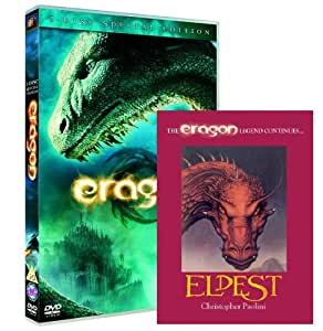 Eragon : 2 disc Limited Edition with 'Eldest' book sampler (Exclusive to Amazon.co.uk) [DVD]